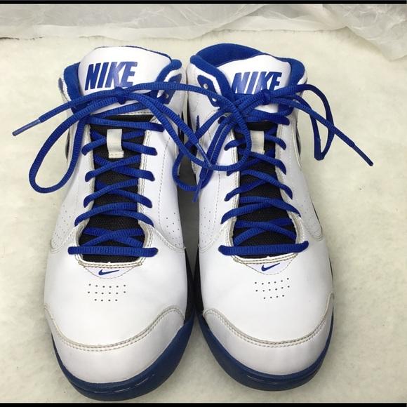 unos pocos maníaco Desde allí  Nike Shoes | Mens Nike Overplay V Whiteblue Sneakers Size | Poshmark